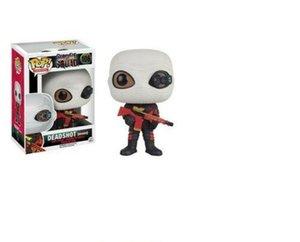 Funko Pop Suicide Squad Deadshot (Maksed) # 106 figurines en vinyle Figure Jouets Modèle prix inférieur