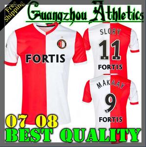 2007 2008 Feyenoord futbol forması SLORY MAKAAY retro futbol forması camisa de futebol camiseta de fútbol 07 08 Feyenoord retro maillot ayağı