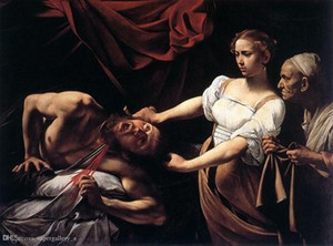 Pt -60 Judith Holofernes Decapitação de Caravaggio giclée Belas artes HD Imprimir Home Decor Oil Painting On Wall Art Canvas Canvas 190902