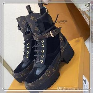 louis vuitton Lv 2020 nouvelles femmes Chaussures Bottes Laureate Boots d'hiver Mode Femmes Nouveau chaud Plus Size Bottines femmes