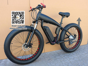 Montaña precio bicicleta eléctrica de grasa moto 48v 21 Velocidad 10A / 15A / 18A del motor 4.0 de bicicleta de montaña de neumáticos de grasa de 26 pulgadas