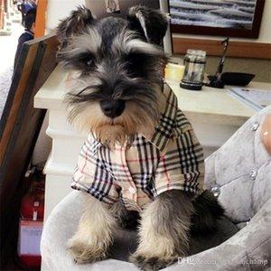 الأزياء الشريط الحيوانات الأليفة القمصان العصرية لمسة ناعمة الحيوانات الأليفة قمصان الشخصية مصمم ازياء تيدي أفطس ملابس