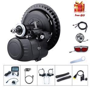 Tongsheng TSDZ2 36V 250W 350W 48V 500W Torque Sensored DIY eBike Mid unidade Crank Motor Kit bicicleta elétrica Central Kit Conversão Motor