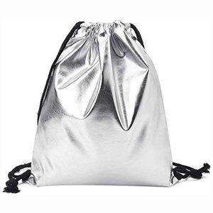 Saco de corda cordão Bag Mulheres Moda Sólidos Pull cordão Mochila Bolsa Tote Bolsa Worek Plecak Sznurek Mochila Feminina B