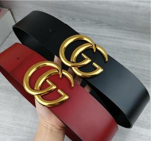 correa de 2020 de las mujeres del diseñador de moda nueva de 7 cm de ancho, negro, cuerpo de color rojo, cinturón de oro de la hebilla al por mayor caliente, 13