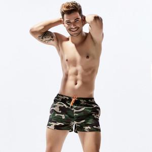 Мужская Летняя мода Купальники Купальник Горячая продажа Бич Короткие штаны Камо шорты Swim плавках Surf Plus Size