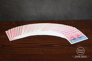 Высокое качество 1 палуба 52 оттенка красного Shin Lim, карта Magic Trick, крупный план, рекомендую! Close Up Magic, трюк, магия Игрушки Шутка Magie J190427