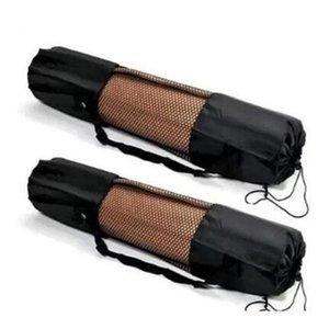 Nylon PilatesYoga Mat Bag waterproof Yoga Holder Carry Strap Bag Pocket Sport Gym Fitness Backpack Durable Yoga Sport Equipment