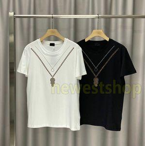 020 nouveaux paris d'été de luxe de Mens Hot Drill Imprimer T-shirt Vêtements Tshirt mode T-shirts de haute qualité à manches courtes Casual Tops Tee