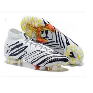 Alta ayuda zapatos de fútbol zapatos de patín FG-uñas zapatos de fútbol de moda las botas de fútbol botas de fútbol del TF de los hombres el envío libre de botín de fútbol