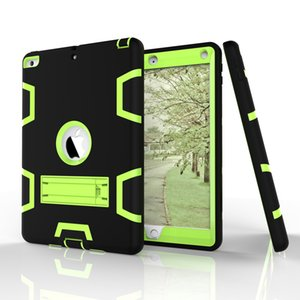 For New Ipad 10.5 2017 air 10.5(2019) Protection Shockproof Kickstand Durable Silicone PC Tablet Case Cover