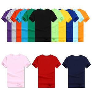 220 Can чистого хлопка с коротким рукавом Пустой круг Lead T Shirt Культура проложенная верхней одежды Реклама подкладки верхней одежды маркировочного класса