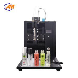máquina de llenado perfume sola cabeza semi-auto emulsión de aceite esencial líquido de relleno ampolla