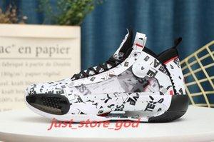 Jayson Tatum 34 hococal XXXIV PE Blue O Men Basketball Shoes Designer Sport Sneaker 34s Guo Ailun Zoom explosively light Athletic Trainer