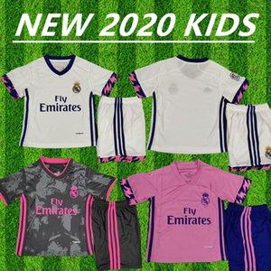 2020 2021 REAL MADRID jerseys 20 21 soccer jersey HAZARD SERGIO RAMOS BENZEMA VINICIUS BALE camiseta football shirt uniforms kids kits