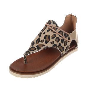 Mejor manera de la venta sandalia de las mujeres chancletas de playa del vestido de fiesta de los zapatos de la muchacha atractiva del leopardo de la cebra de la piel de serpiente del deslizador de la sandalia de lujo del tamaño grande EU35-43