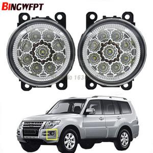 2pcs / pair 안개 램프 어셈블리 Mitsubishi Pajero IV 용 슈퍼 브라이트 LED 안개등 할로겐 라이트 V8_W V9_W Closed Off-Road Vehicle 2007-2012