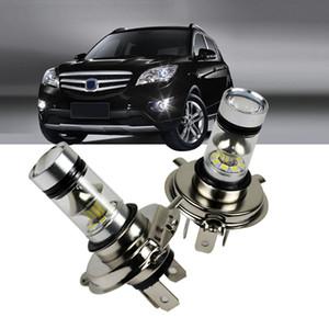 H4 / H7 LED Voitures Ampoule 100W 6500K 12-24V Autos 20LED Brouillard Lampe conduite 1000lm blanc phares