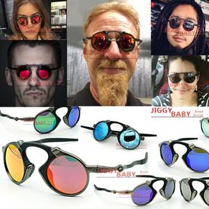 Top Brand Designer madman Sunglasses X-Metal OO6019 Sports Polarized Outdoor Driving Riding UV400 Color Mirror Idirium Ruby Red Men Women