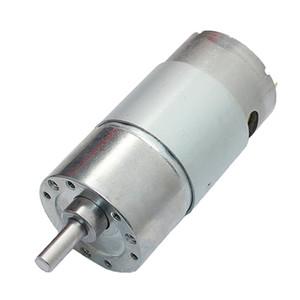 DC 12V 180 rpm el motor del engranaje del esfuerzo de torsión Mini reducción de la velocidad de salida del motor engranado aleación de metal Centric eje de la caja / 1PACK