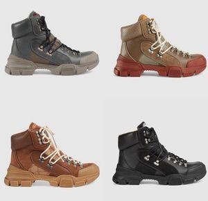 FlashTrek alta-top Sapatos Mens Casual tornozelo Sapatinho Caminhadas Militar Bota Outdoor Womens Chunky Martin Botas Anti Skid H4