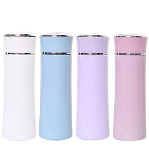 Ventose delle donne degli uomini su misura Lettering regalo di promozione Food Grade 380ml Sport Utilizzare coppa all'ingrosso acciaio inox 304 tazze DH0086