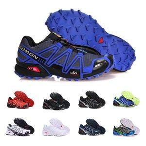 salomon speedcross 3 2019 Cross 3CS III Mens mulheres correndo Sapatos zapatos hombre Speed Sport Sneakers Homens Preto ao ar livre athletic Speedcross Sapato 40-46