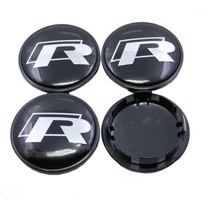 4Pcs lot 65mm VW R LINE wheel hub Cap Cover emblem auto badge for VW Golf Touran Tiguan Magotan Passat CC SCIROCCO car styling