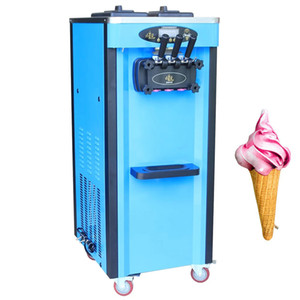 2020 hot sale mini ice cream machine three flavors soft ice cream vending machine color can be customized soft ice cream machine