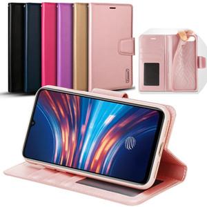 Hanman Moinho carteira PU Leather Flip Case para iPhone 11 Pro Max Samsung Nota 10 10+ A10 A20 A30 A50 A70 A80 A10S A20S A30S A50S Companheiro 30 Lite