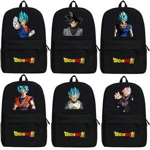Animado Z Goku Mochila de dibujos animados Dragon Ball Super Kakarotto bolsos de escuela del bolso de hombro del estudiante Bookbag Niños Adolescentes