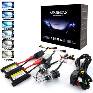 kit de xenón H7 35W AC 55W lastre delgado HID Xenon faro de bombilla de 12V H1 H3 H11 H7 HID kit 4300k 6000k Reemplazar lámpara halógena