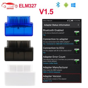 Super Mini ELM327 Bluetooth V1.5 OBD2 Car Diagnostic Tool ELM 327 Bluetooth For Android windows For J1850 OBDII Protocol