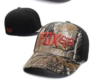 Casual Fox Motos Profissão Corridas Desporto Hat Fox Monstro Elastic Cap Cap ondulado Baseball Cap Monst
