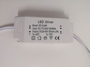 LED Constant Current Driver for Ceiling Light LED 8W-24W 8W-27W Power Supply with Stable IC Chip Specific AC180V-250V AC175V-265V Driver