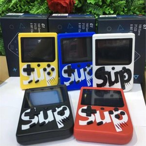 DHL INS Mini avuçiçi oyun kutusu SUP nostaljik oyun oyuncu 400 5 renk mevcuttur 1 ila 3 inç HD renkli LCD ekran