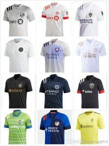 2020 Los Angeles Fußball-Jersey-2021 New York City Cincinnati LAFC Carlos Vela FC Inter Miami Beckham LA Galaxy Chicharito Fußball-Hemden