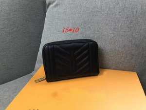 Womens la Designer Leather Wallet piccole smerigliato mondana di stile di grande capienza Portafoglio sacchetto della carta Luxry 2020 nuovo stile di modo di fascia alta