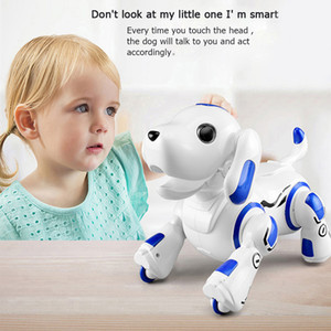 Kids Electronic Pet Toy Wireless Children Interactive Smart RC Robot Dog Intelligent Educational Toy with Remote Control