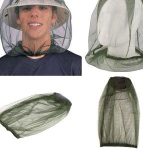 Москитная сетка головы не включая шлем Mosquito сопротивления Bug насекомых Bee Net Mesh Head Face Protector Mosquito насекомых Hat сетки KKA7866