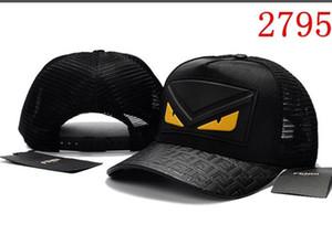 La moda de lujo de alta calidad para hombre de la gorra de béisbol diseñadores Hip Snapback de los sombreros de mujer de marca Deportes deporte hueso Hop plana Sombrero de sol Gorras Gorra
