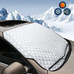 Car Waterproof Magnet Windshield Windscreen Cover Snow Frost Sunshade Protector