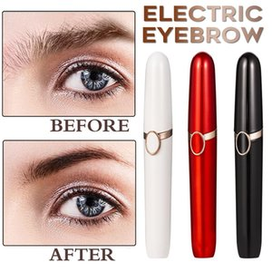 Electric Eyebrow Trimmer Women Face Razor Eyebrow Epilator Shaver Painless Fast Eye Brow Trimmer Portable Hairs Luxury Shaver