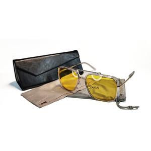 Neue Art und Weise Männer Frauen Wayfarer Sonnenbrille Fischen Sonne Glas Klassische Persönlichkeit Metall-Quadrat-Rahmen UV-beständig Sonnenbrille