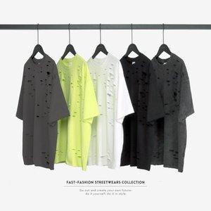 2020 Männer Mode-Straße T-Shirt für Männer koreanische Rundhals Sommer oberste dünne reine Baumwolle Herrenunterhemd der halben Hülse der Männer s tre