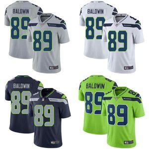 SeattleSeahawksMen #89 Doug Baldwin Grey Steel Blue White Green Women Youth StitchedNFL Vapor Untouchable Limited Jersey