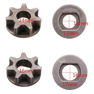1x M14/M16 Chainsawar Gear For 115 125 180 Angle Wrinder Chainsaw Parts Bracket Replacement Power Tool Tools