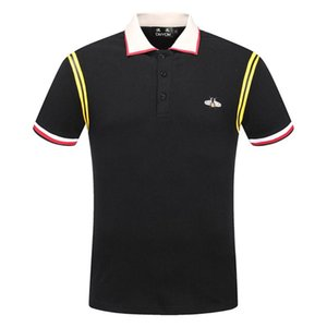 DUYOU nuovo progettista di lusso degli uomini camicie gli uomini vestiti di marca casuale semplice manica corta maschile di alta qualità 100% cotton DY7021