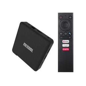 KM1 ATV TV Box Android TV 4GB 64GB Amlogic S905X3 أندرويد 9.0 2.4 G / 5G Wifi Google Play Prime Video 4K Voice