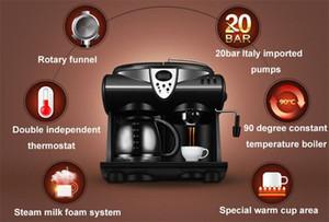 Espressomaschine Halbautomatische Kaffeemaschine Cappuccino Latte Macchiato Mokka Frother Milch Blase Kaffeemaschine